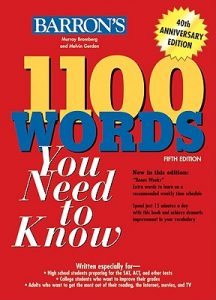 کتاب 1100 واژه بارونز